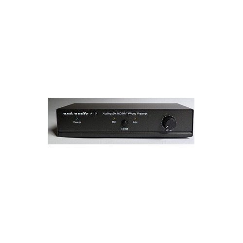 ank audio A-14 MM- / MC-Phono-Preamp für TA-10.1 / TA-10.2-SE